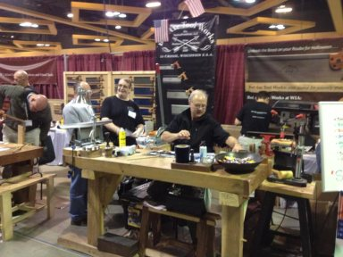 Bad Axe Tool Works Booth